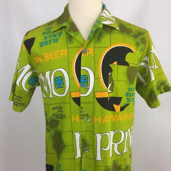 4e749ba8e4 Hawaiian Holiday Other - Hawaiian Holiday Primo Beer Shirt Mens S   M